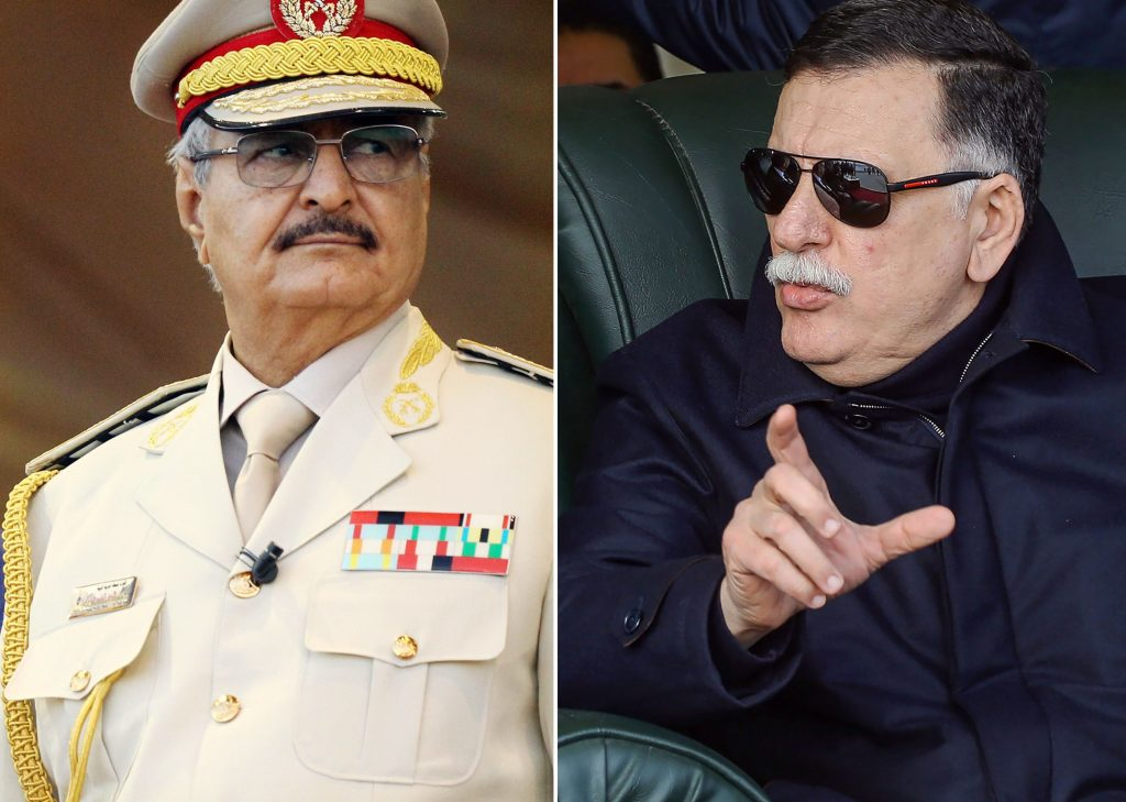 The Libyan conflict between Fayez al Sarraj and general Khalifa Haftar shows no sign of abating. Following Muammar Gaddafi's death the country collapsed into a chaos it seems unable to free itself from.