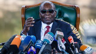 Former Zimbabwean President Robert Mugabe (LaPresse)