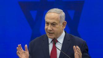 Netanyahu meets Gantz