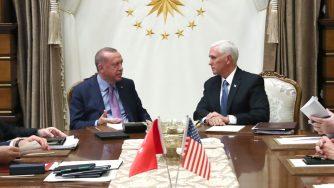 Erdogan vede Pence