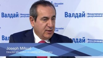 Joseph Mifsud (Screenshot da YouTube)