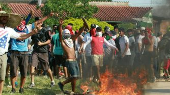 Bolivia clashes