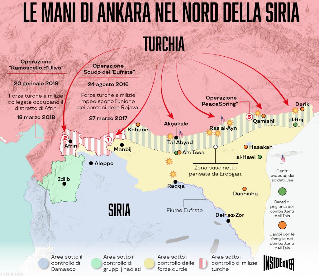 L'avanzata turca nel nord della Siria (Alberto Bellotto)
