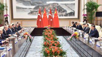 China and Turkey
