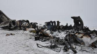 aereo caduto in Afghanistan