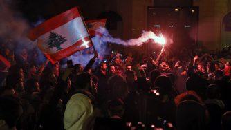 Proteste in Libano (La Presse)