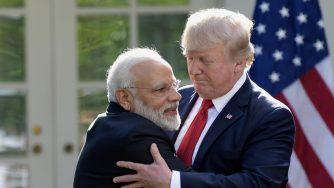 Trump Modi (La Presse)