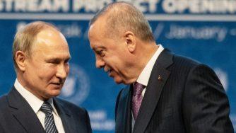 Erdogan e Vladimir Putin