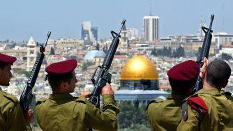 Israele militari cerimonia