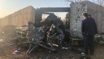 Iran aereo disastro
