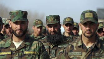 Afghanistan guardia nazionale (La Presse)