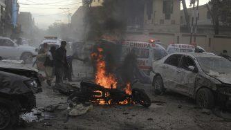 Pakistan suicide bombs (La Presse)
