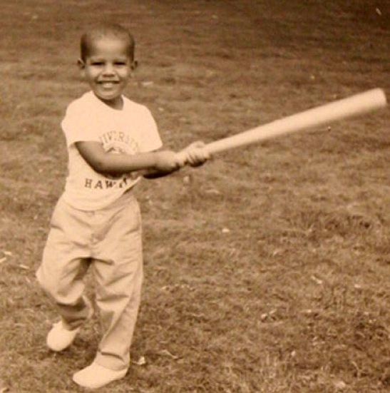 Il piccolo Barack Obama (LaPresse)