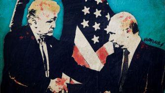 Donald Trump e Vladimir Putin (LaPresse)