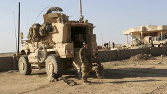 Us troops in Iraq (LaPresse)