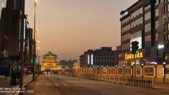 La città di Xian bloccata dal Coronavirus (Michela Ag Iaccarino)