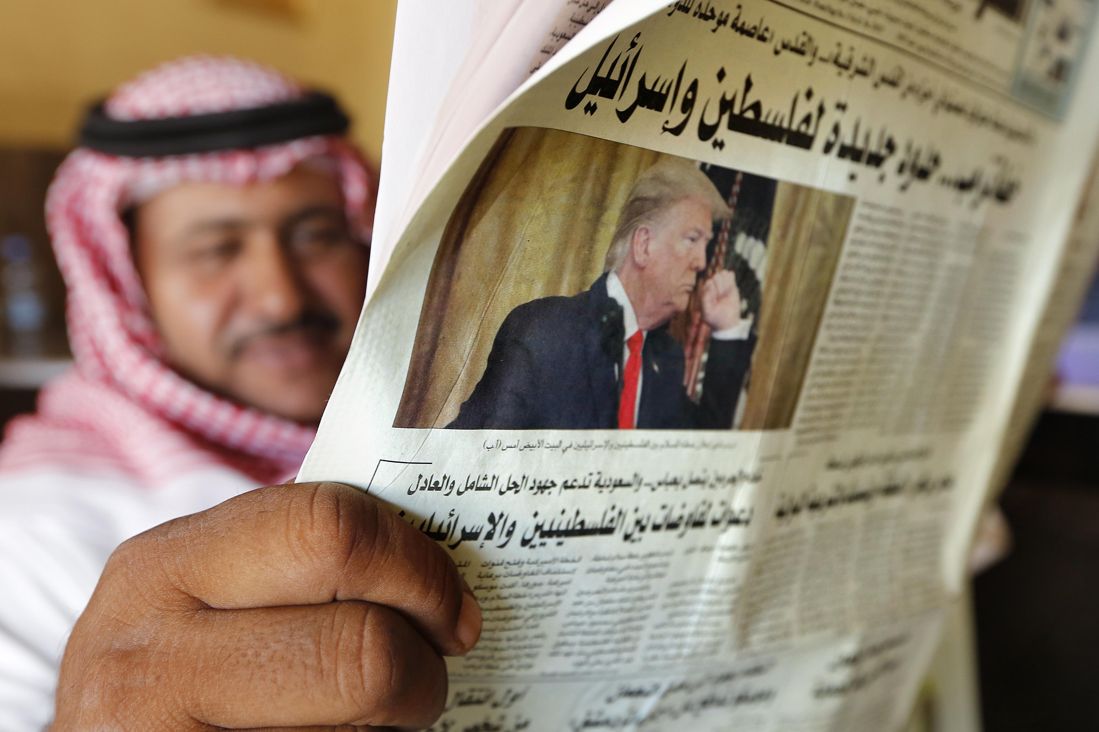 Piano di pace di Trump (LaPresse)