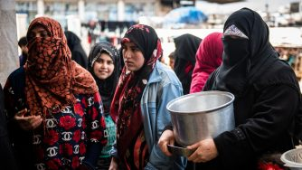 Syrian Refugee Camps Swell As Idlib Offensive Pushes Toward Turkish Border