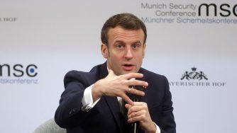 Macron monaco