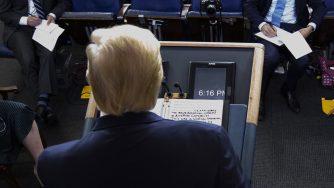 Trump covid coronavirus