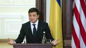 Volodymyr Zelenskiy (La Presse)