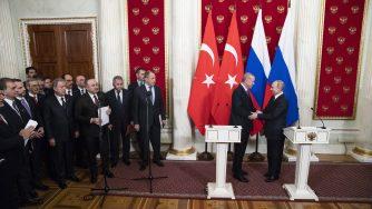 Erdogan and Putin La Presse
