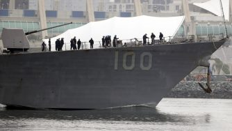Uss Kidd marina americana (La Presse)