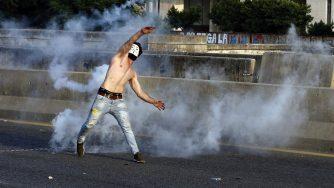Libano: Proteste antigovernative a Beirut