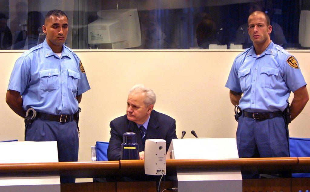 Il processo a Slobodan Milosevic (LaPresse)