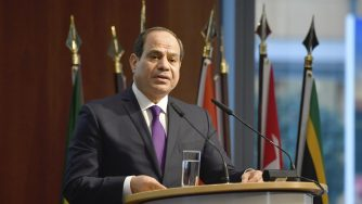 Al Sisi presidente dell'Egitto (La Presse)