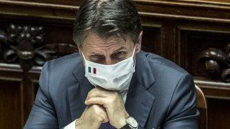 Informativa di Giuseppe Conte (La Presse)
