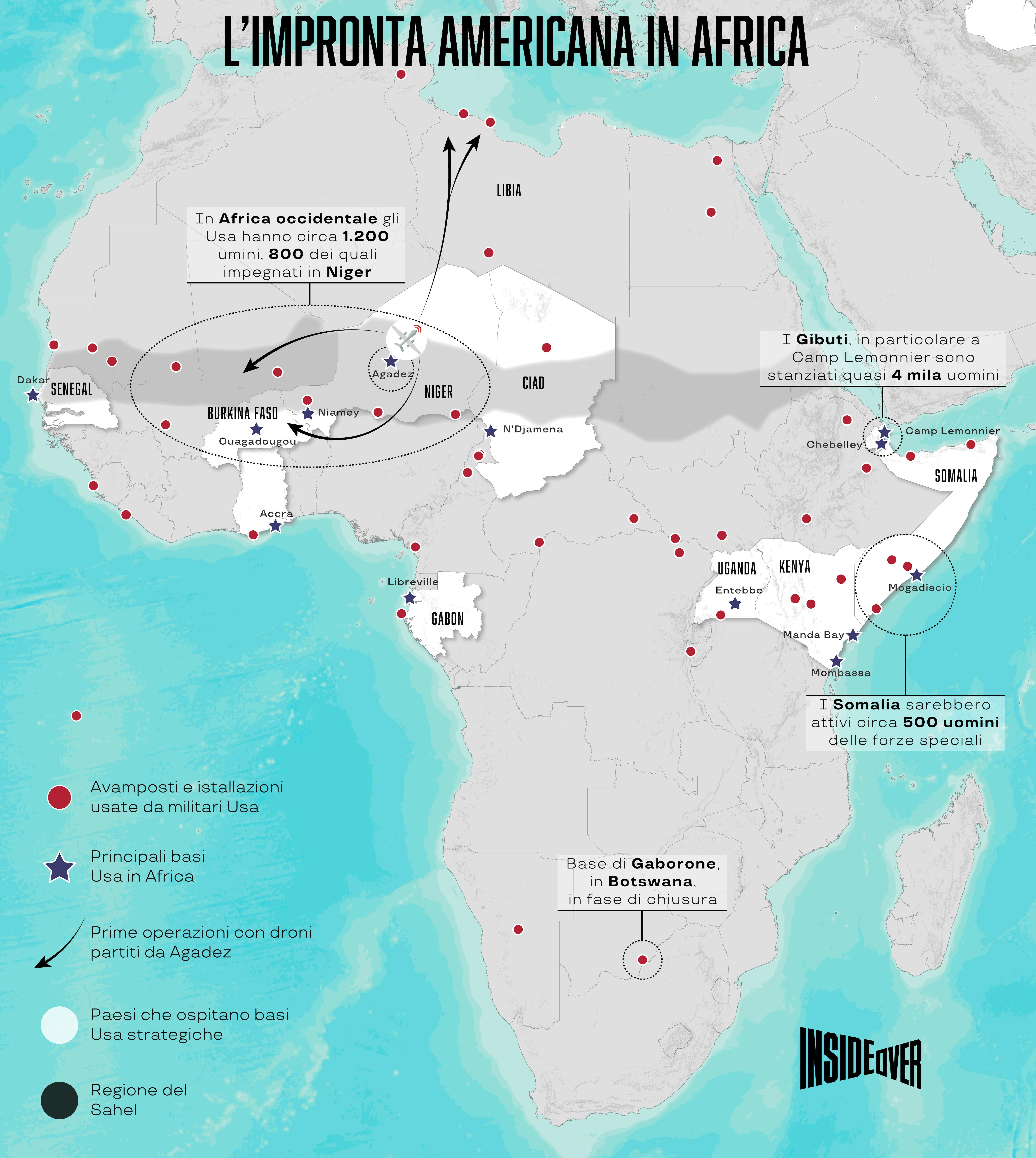 basi usa africa mappa