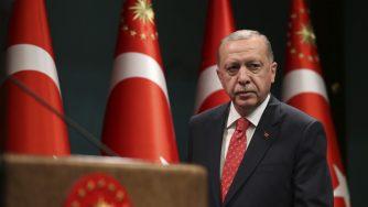 Discorso di Erdogan ad Ankara (La Presse)