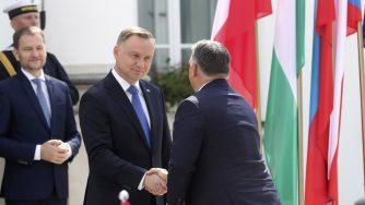 Andrzej Duda e Viktor Orban (La Presse)