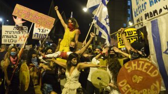 Anti-Netanyahu Protests Continue, Fueled By Coronavirus, Corruption And Sundry Other Causes