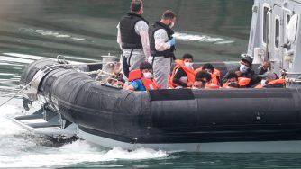 Migranti nel Canale della Manica