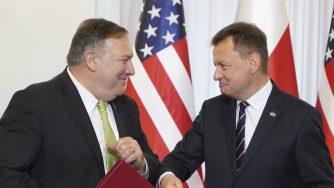 Il segretario di Stato americano Mike Pompeo in visita in Polonia