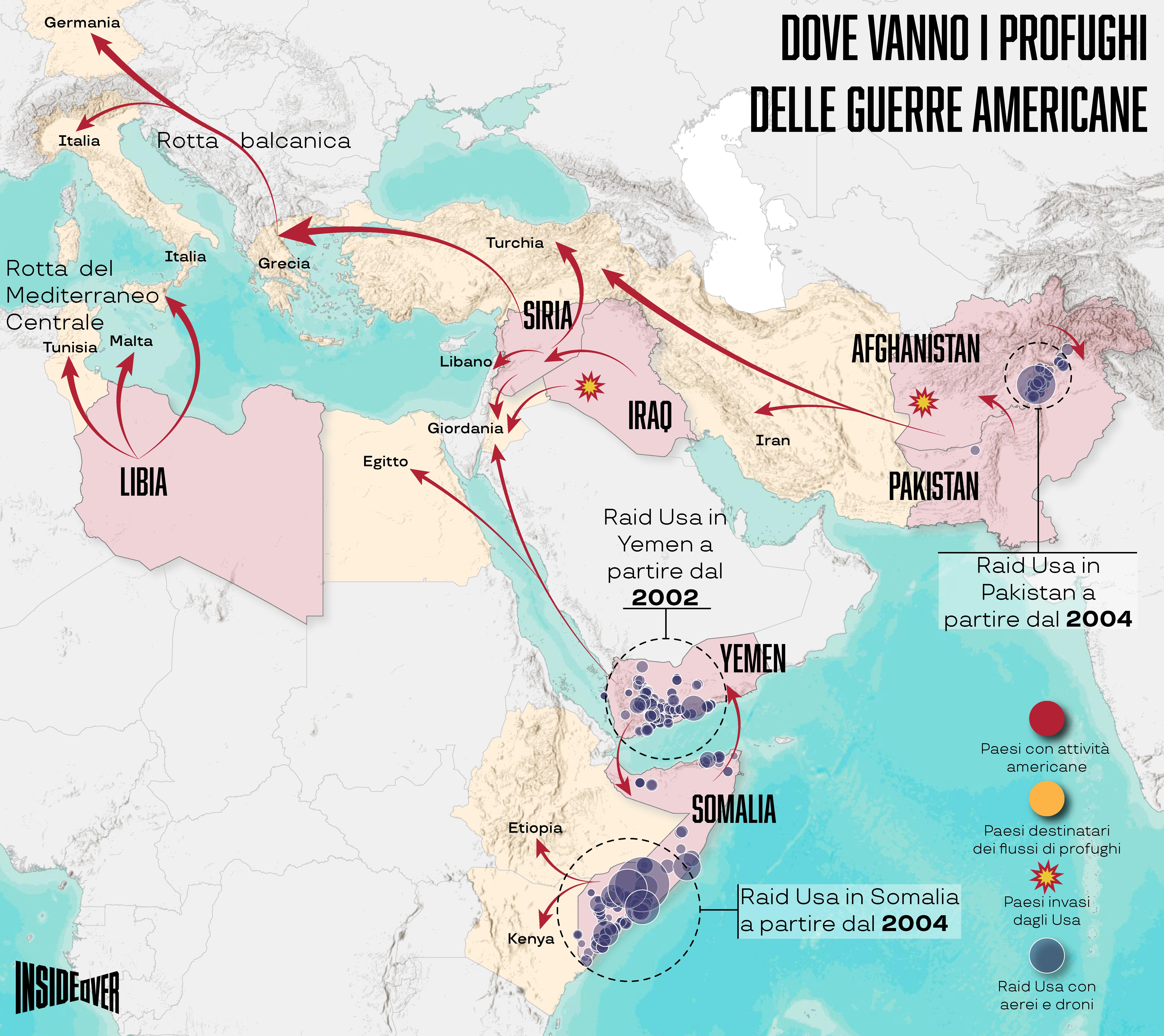 profughi post 11 settembre mappa