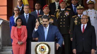 Caracas, conferenza di Nicolas Maduro su emergenza Coronavirus