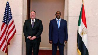 Mike Pompeo e Abdel-Fattah Burhan, Sudan (La Presse)