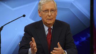Senate Majority Leader Mitch McConnell (La Presse)