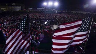 Elezioni Usa 2020: discorso di Donald Trump dal Kenosha Regional Airport