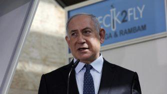 Benjamin Netanyahu a Tel Aviv (La Presse)