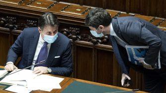 Giuseppe Conte e Roberto Speranza (La Presse)