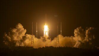 Cina, missione per la Luna (La Presse)