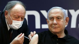 Netanyahu vaccino (La Presse)
