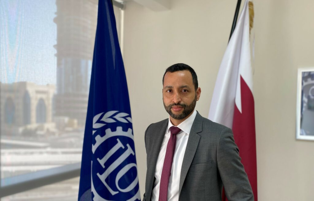 Max Tuñón, the head of the project office of the International Labour Organization (ILO) for the State of Qatar