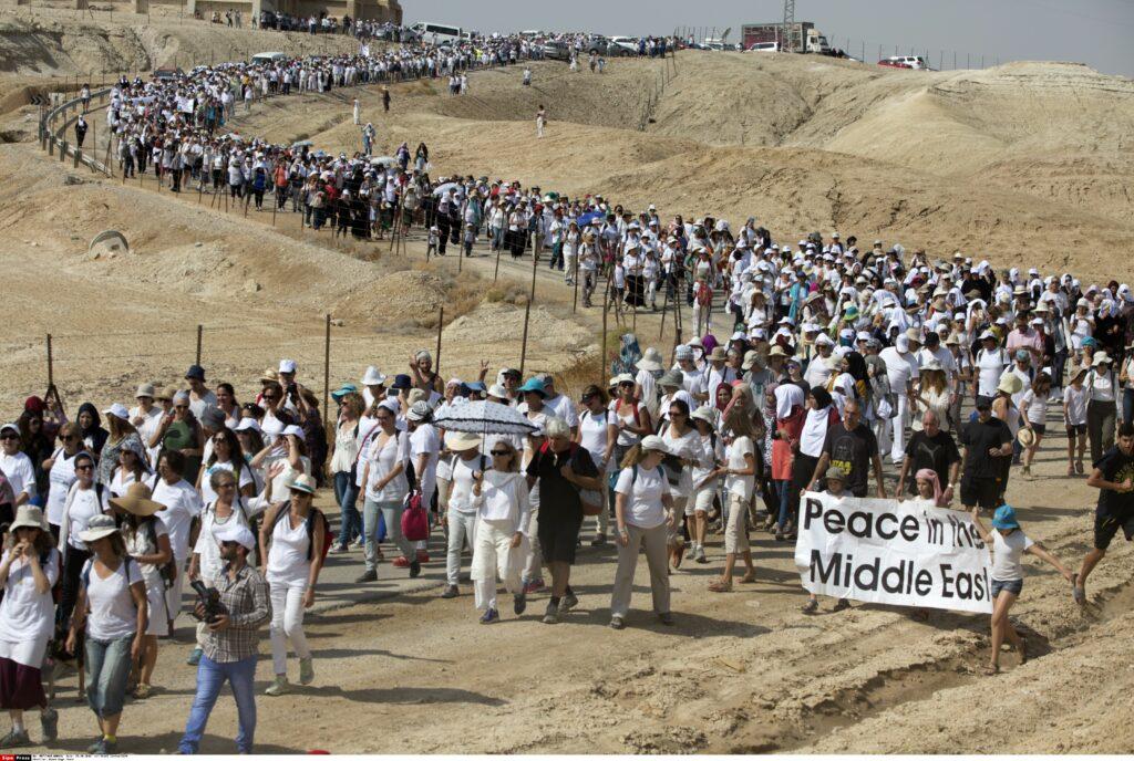 marcia donne israele palestina