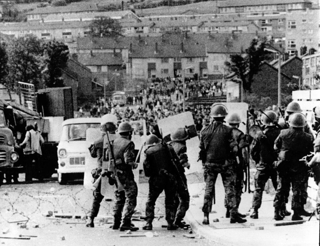 scontri irlanda del nord 1972