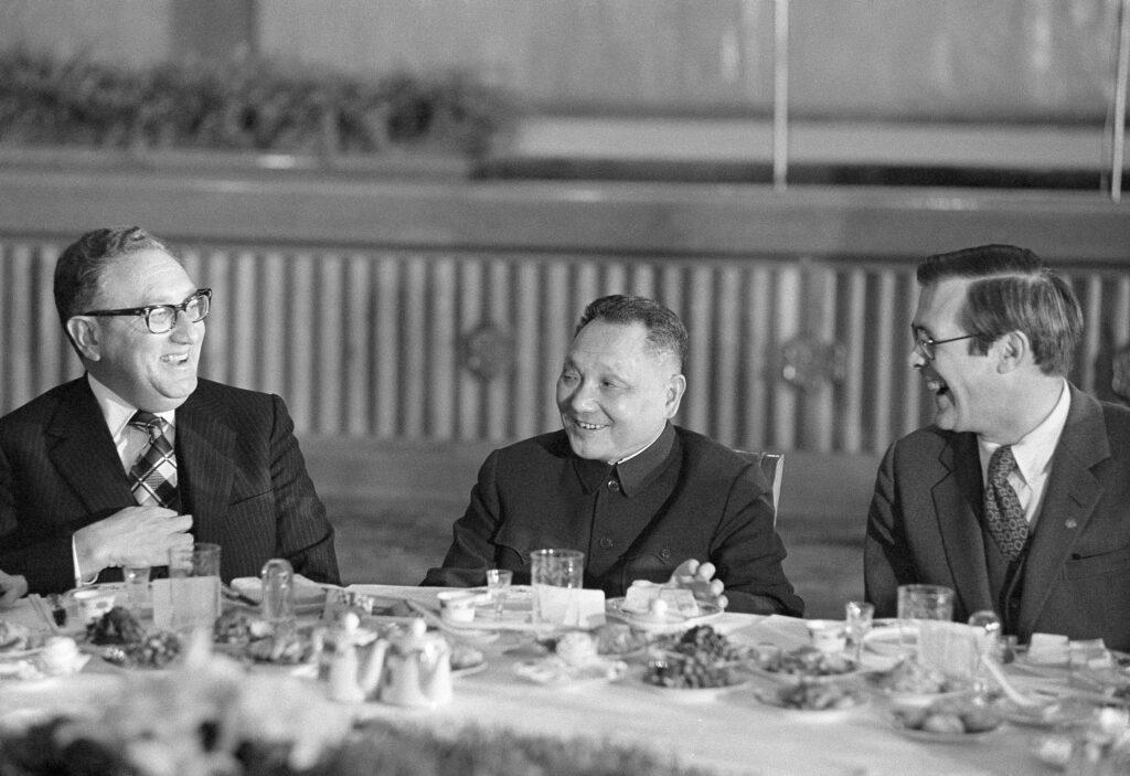 Henry Kissinger, Deng Xiaoping, Donald Rumsfeld